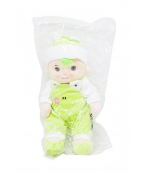 Кукла плюшевая в комбинезоне (желтый) SD1602