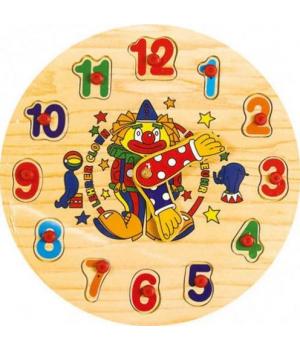 """Рамка-вкладыш """"Часы-цифры"""" Р 02"""