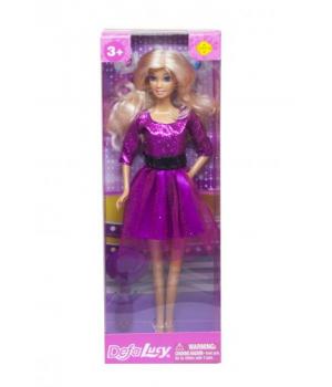 Детская Кукла Defa Lucy Fashion фиолетовый 8226