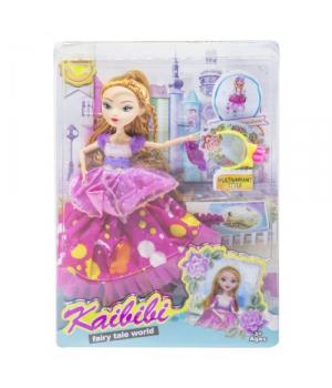 "Игрушка кукла ""KAIBIBI: Fairy Tale World"" с аксессуарами (малиновый) BLD123"