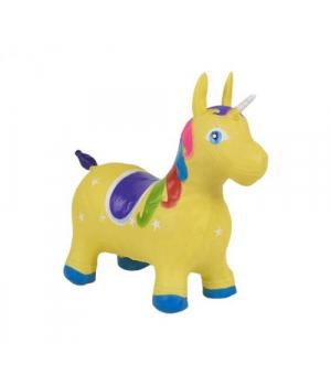 Лошадка прыгун Единорог, (желтый) C37881