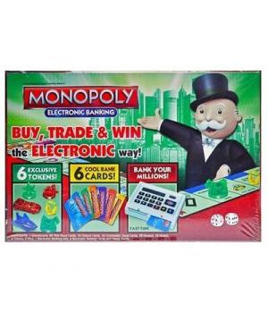 """Настольная игра """"Монополия""""с терминалом, английский 6136B"""