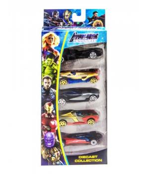 """Набор машинок """"Avengers: Endgame"""" вид 1 307-5A"""