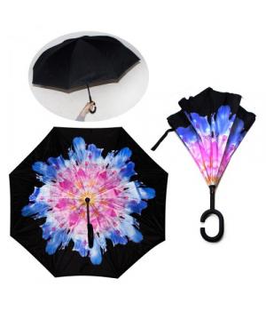 "Детский зонтик наоборот ""Цветок Хризантема"" 55502/0"