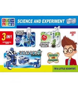 Детский набор для опытов Исследовательская лаборатория 3 в 1 1057