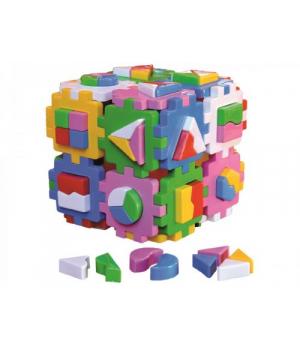 "Сортер Игрушка куб ""Умный малыш Супер Логика ТехноК"" 2650"