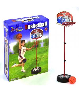 Детское баскетбольное кольцо на стойке для дома, до 120 см, 20881X