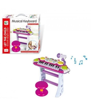 Игрушка пианино с микрофоном, Musical Keyboard