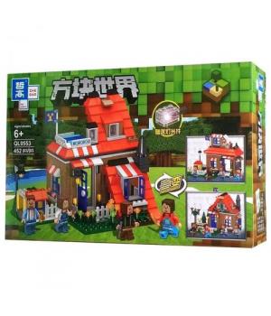 """Игрушка конструктор """"Minecraft - Майнкрафт - Майнкрафт"""", 452 дет QL0553"""