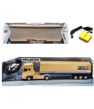 """Игрушка фура на радиоуправлении """"Truck Super Speed"""", бронзовый 666-757A"""
