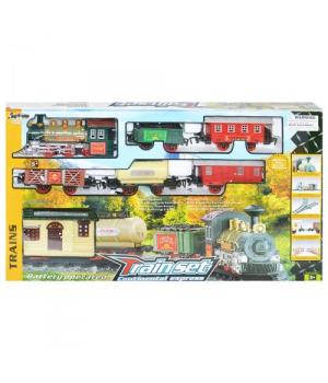 Игрушка Железная дорога ретро поезд, 1209