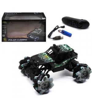 Машинка на пульте управления, на роликовых колесах, с аккумулятором, Polar Climbing 3855