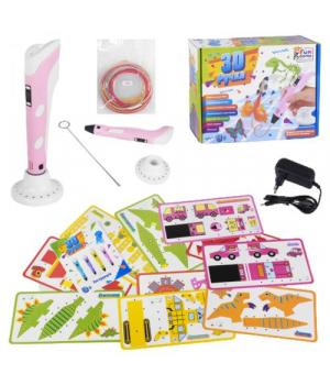 3D ручка 3Д для детей и взрослых, розовая FunGame
