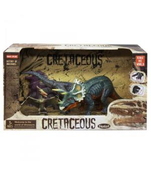 """Набор динозавров """"Cretaceous"""", трицератопс 4402-4/4402-3"""