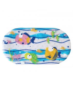 """Детский коврик для ванной """"Рыбки"""" №0900"""