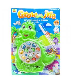 Интерактивная игрушка Рыбалка Динозаврик, зеленый 8866A
