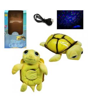"""Ночник детский на батарейках и USB кабель """"Мягкая Черепаха"""" ML88-6"""