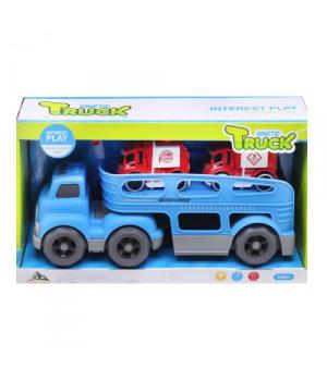 Автовоз с машинками, синий 933-153