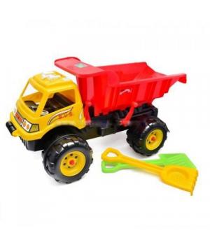 """Машина для песка """"Гигант"""" с песочным набором (желтая) KW-08-802"""