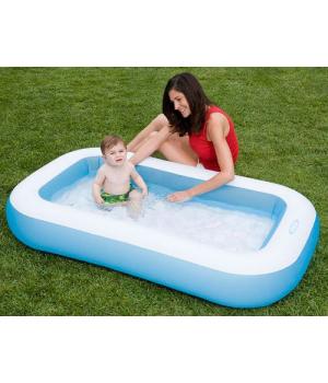 Детский надувной бассейн маленький, Intex