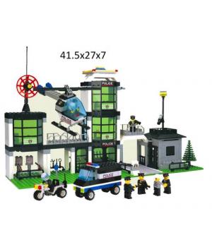 Конструктор полицейский участок (430 деталей)