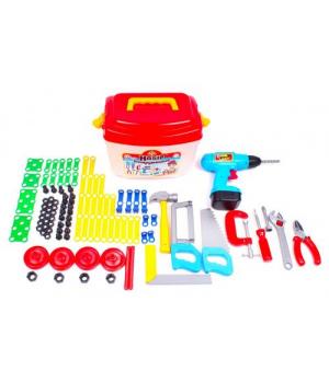Набор инструментов для мальчика ТехноК (94 элемента) 4395