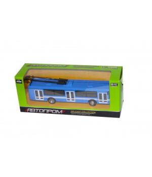 """Коллекционная модель троллейбус """"Автопром"""", инерционный 6407"""