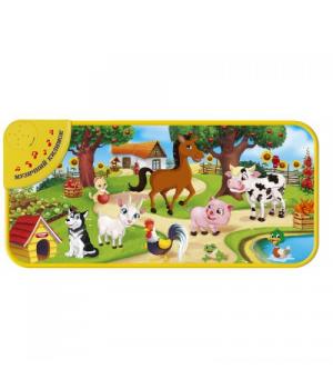 """Детский коврик со звуками животных """"Домашние животные"""" KI-781-U"""