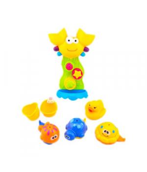 Игрушки в ванную на присосках Крабик