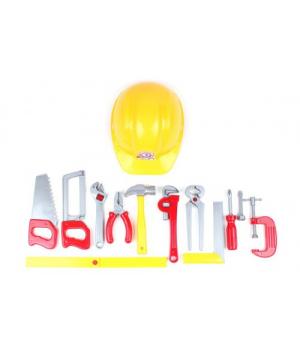 """Игрушечный набор инструментов """"Tools Set"""" (11 инструментов и каска) 5873"""