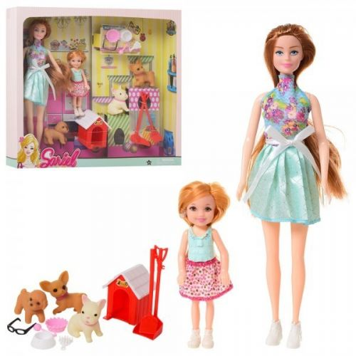 "Набор кукол с питомцами ""Sariel"" 7726-A2"