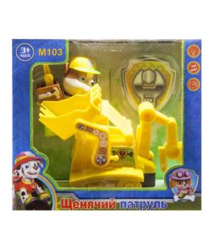 """Герой с машинкой """"Щенячий патруль: Крепыш"""" M103"""