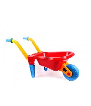 Игрушка тачка для песка с ручками (красная) 1059