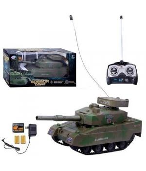 Игрушка Танк на радиоуправлении с аккумулятором 9344