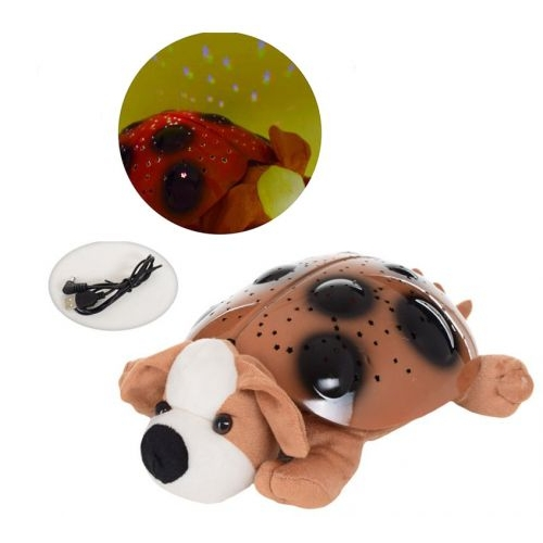 Детский Ночник игрушка Собачка, MIC