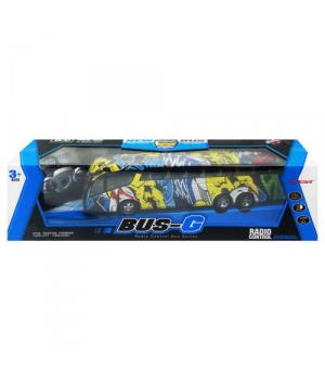 """Игрушка автобус """"Bus-G"""" на радиоуправлении с граффити 666-694TA"""