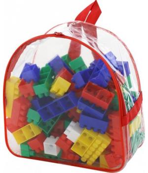 Конструктор пластиковый, 100 деталей 3314