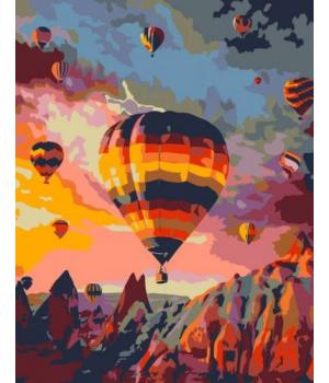 "Картина по номерам ""Полёт над скалами"" ★★★ N00013339 35х45 см"