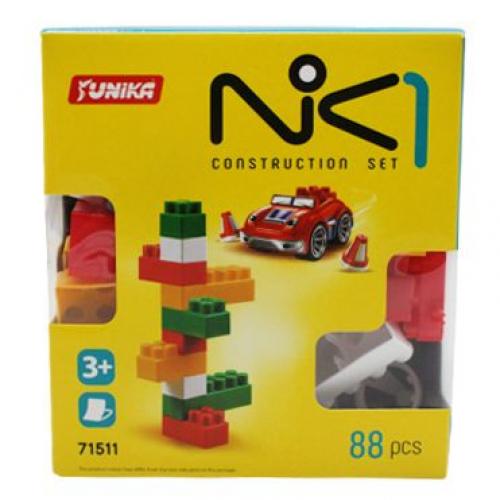"""Конструктор для маленьких деток, """"NIK-1"""", 88 деталей"""