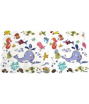 Детский коврик в ванную Морские обитатели LN-8666