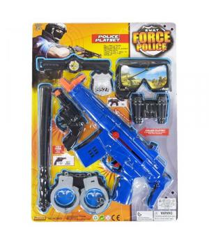 Игрушка набор полицейского с автоматом и маской 8 элементов, S.W.A.T
