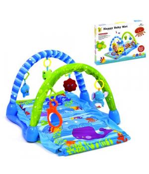 Коврик для новорожденных с игрушками, Hen Run Toys