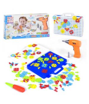 Конструктор-мозаика с дрелью, Fun Playing