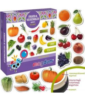 "[ML4031-15 EN] Magnetic set ""Fruits and vegetables"" ML4031-15 EN"