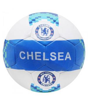 Мяч футбольный размер №5, синий FB20144