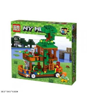 "Игрушка конструктор ""Minecraft - Майнкрафт - Майнкрафт"", 356 дет 63053"