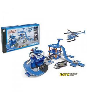 Детский игрушечный паркинг Полицейский участок 660A-95