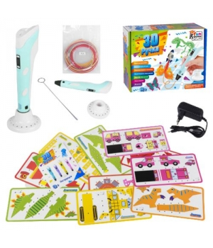 3D ручка 3Д для детей и взрослых, голубая 60484