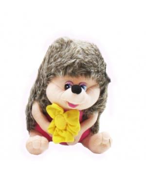 Мягкая игрушка Ежик, 22 см (поёт песенку) розовый F6-1439
