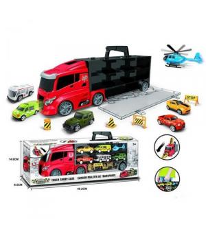 Автовоз игрушка с машинками (модельки), 666-06K